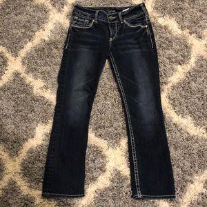 Silver Jeans Suki Capri!